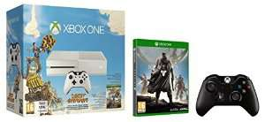 Console Xbox One blanche + Sunset Overdrive + Destiny + manette supplémentaire