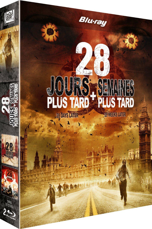 Coffret 2 Blu-Ray 28 jours plus tard + 28 semaines plus tard