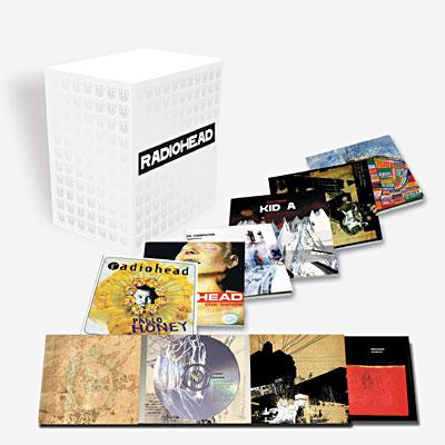 Radiohead Intégrale - Coffret 7 CD