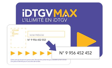 Abonnement au mois en illimité avec l'abonnement iDTGV Max
