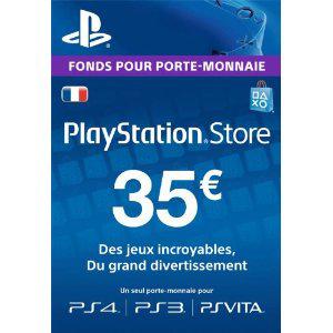 Carte Playstation Network (valeur 35€)