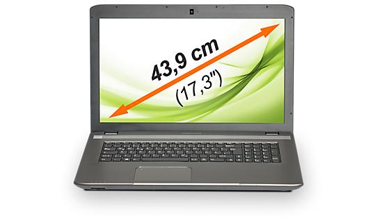 "PC Portable 17,3"" Medion Akoya NB P7631 (MD 98871) : i5, 825M, 8 Go, 1 To, W8.1"