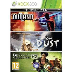 Triple Pack : Beyond Good & Evil + From Dust + Outland sur Xbox 360