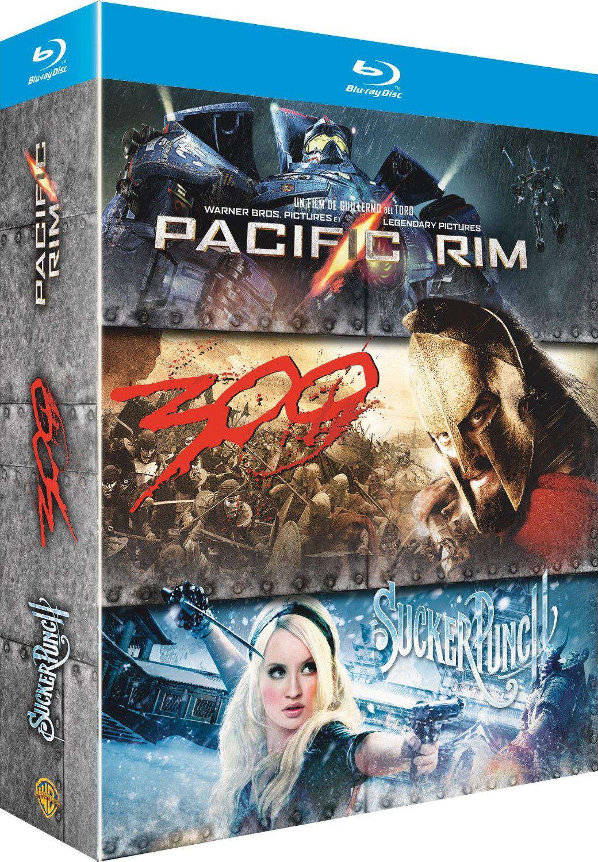 Coffret Pacific Rim / Sucker Punch / 300 (Blu-ray + Copie Digitale)