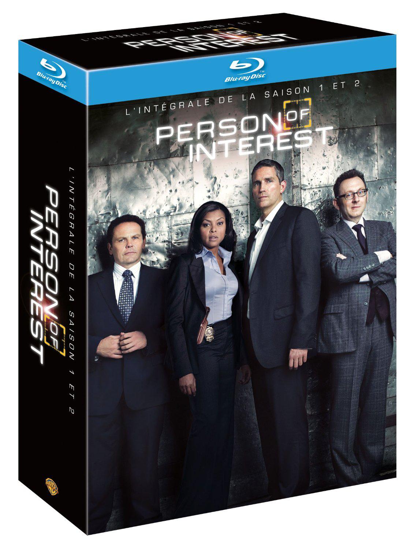Coffret Blu-Ray Person of Interest - Saisons 1 & 2