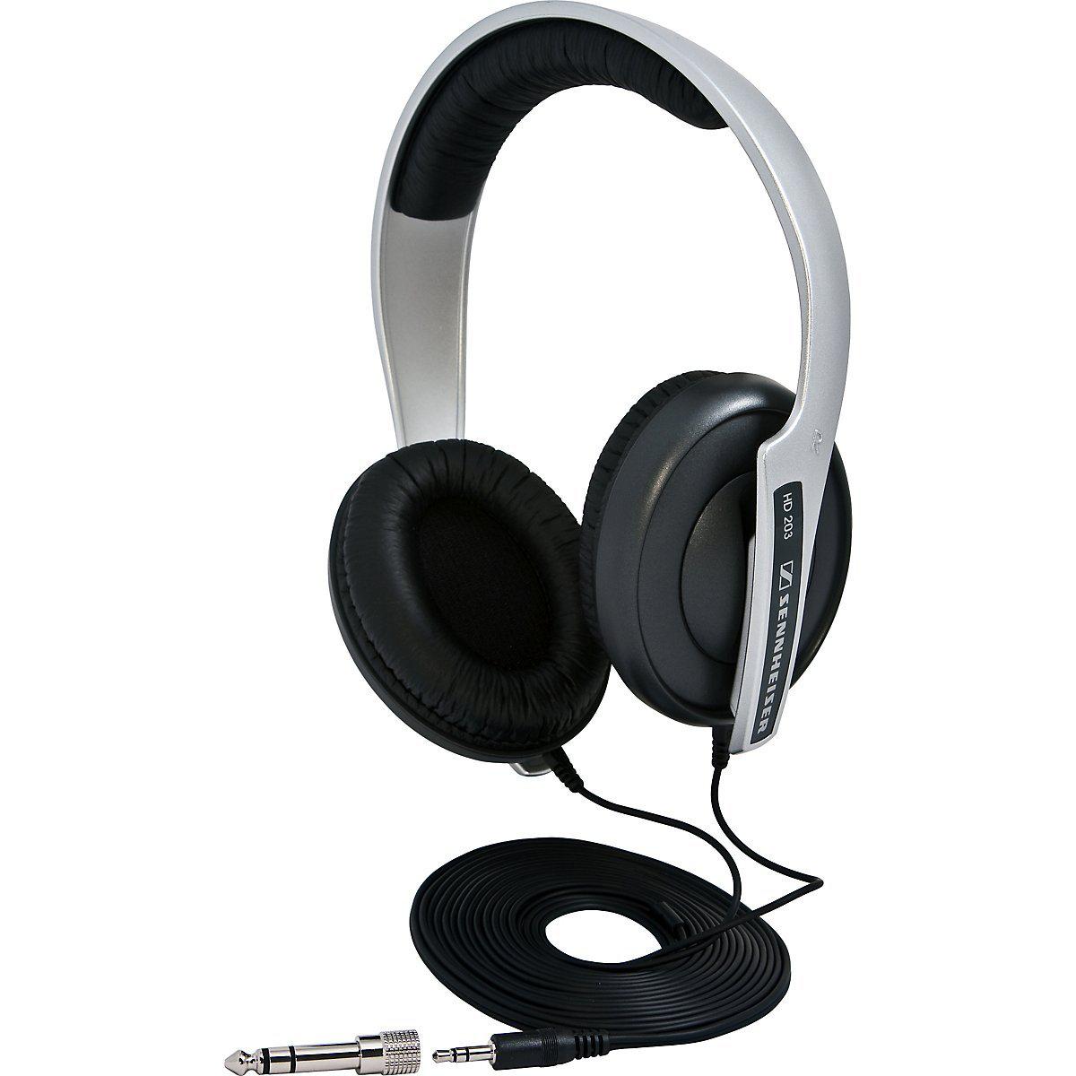 Casque audio DJ Sennheiser HD 203 supra-aural filaire