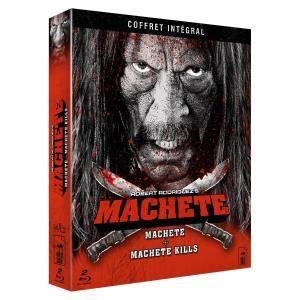 Coffret Blu-ray intégrale Machete Kills + Machete