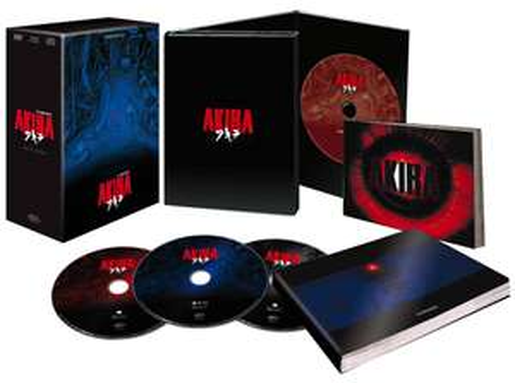 Akira coffret 25eme anniversaire (Blu-ray, DVD et autres bonus)