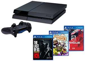 Pack Console PS4 + The Last of Us + Little Big Planet + Drive Club
