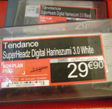 Appareil photo numérique SuperHeadz Digital Harinezumi 3.0