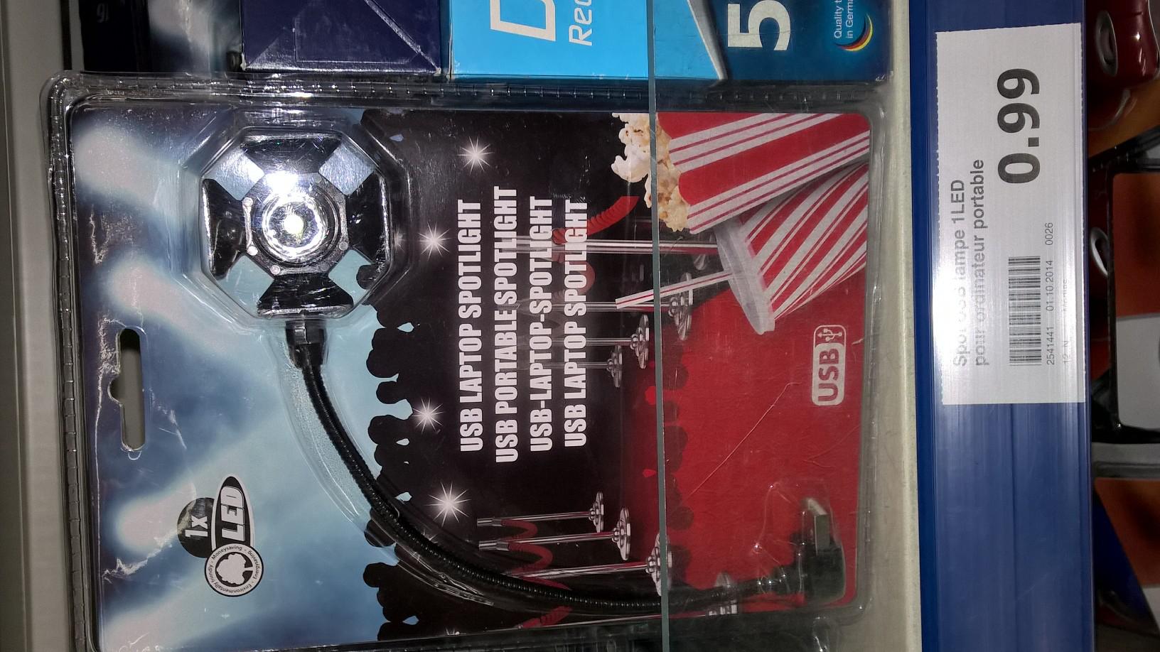 lampe USB à LED pour ordinateur portable