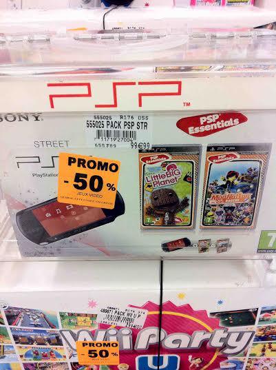 Console Sony PSP Street + 2 jeux