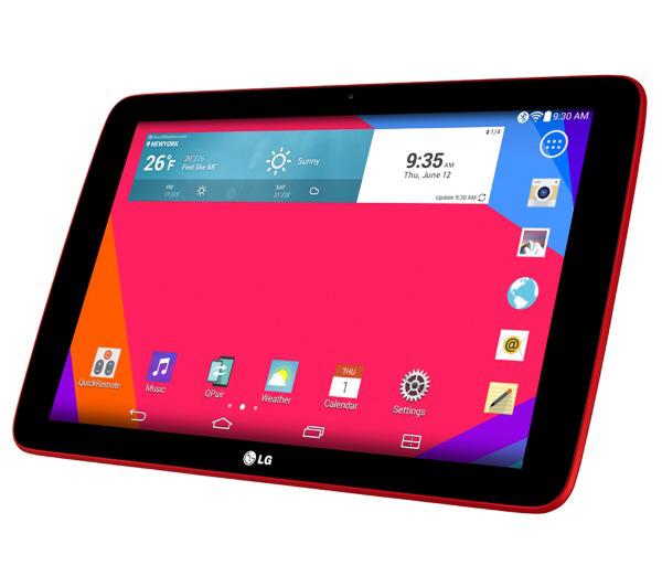 """Tablette LG GPad V700 10.1"""" 16Go Rouge (Avec ODR de 30€)"""