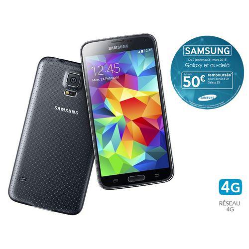 Smartphone Samsung Galaxy S5 (ODR 50€)