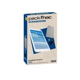 """Tablette tactile 8"""" Asus ME181CX - 1B037A + Etui Magsmart Cover + Carte Mémoire Micro SD 16 Go"""