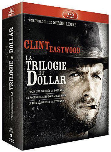 Coffret Blu-ray Sergio Leone - La Trilogie du Dollar