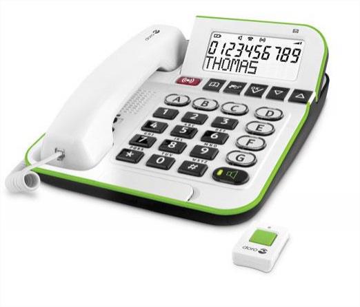 Téléphone amplifié avec fonctions de sécurité Doro Secure 350
