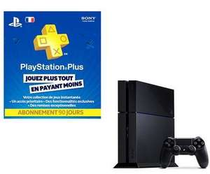 Console playstation 4 + Playstation Plus 90 jours