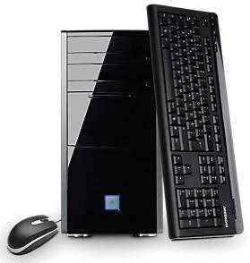 Sélection de PC de bureau Medion destockés - Ex : Medion Akoya P5377 G (i7-4790, HDD 2To, SSD 128Go)