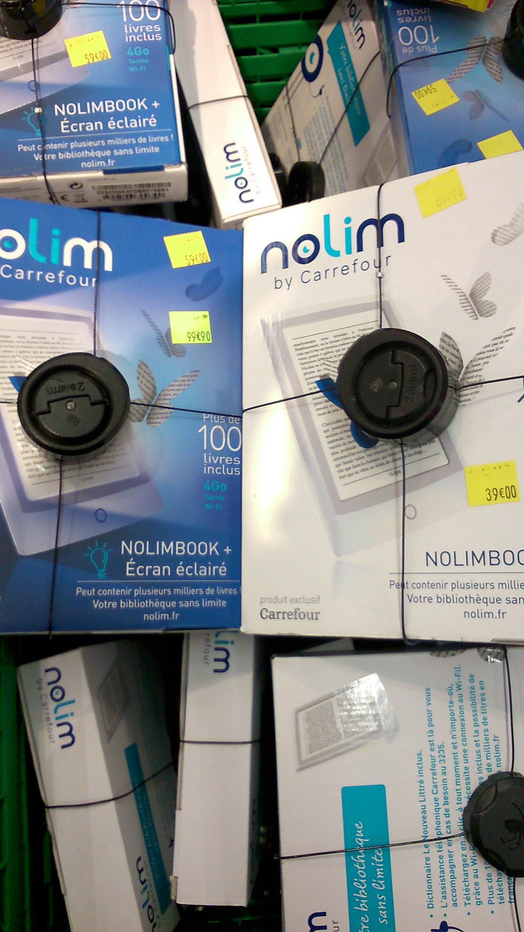 Liseuses Nolimbook + à 59€ et Nolimbook