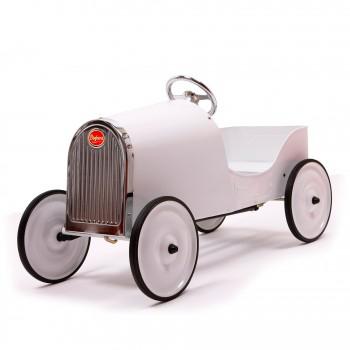 Voiture à pedales blanche Baghera Legend