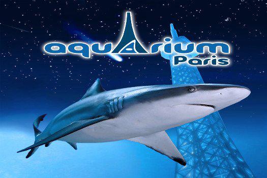 Entrée pour une visite nocturne à l'Aquarium de Paris les samedis 7 février ou 7 mars 2015