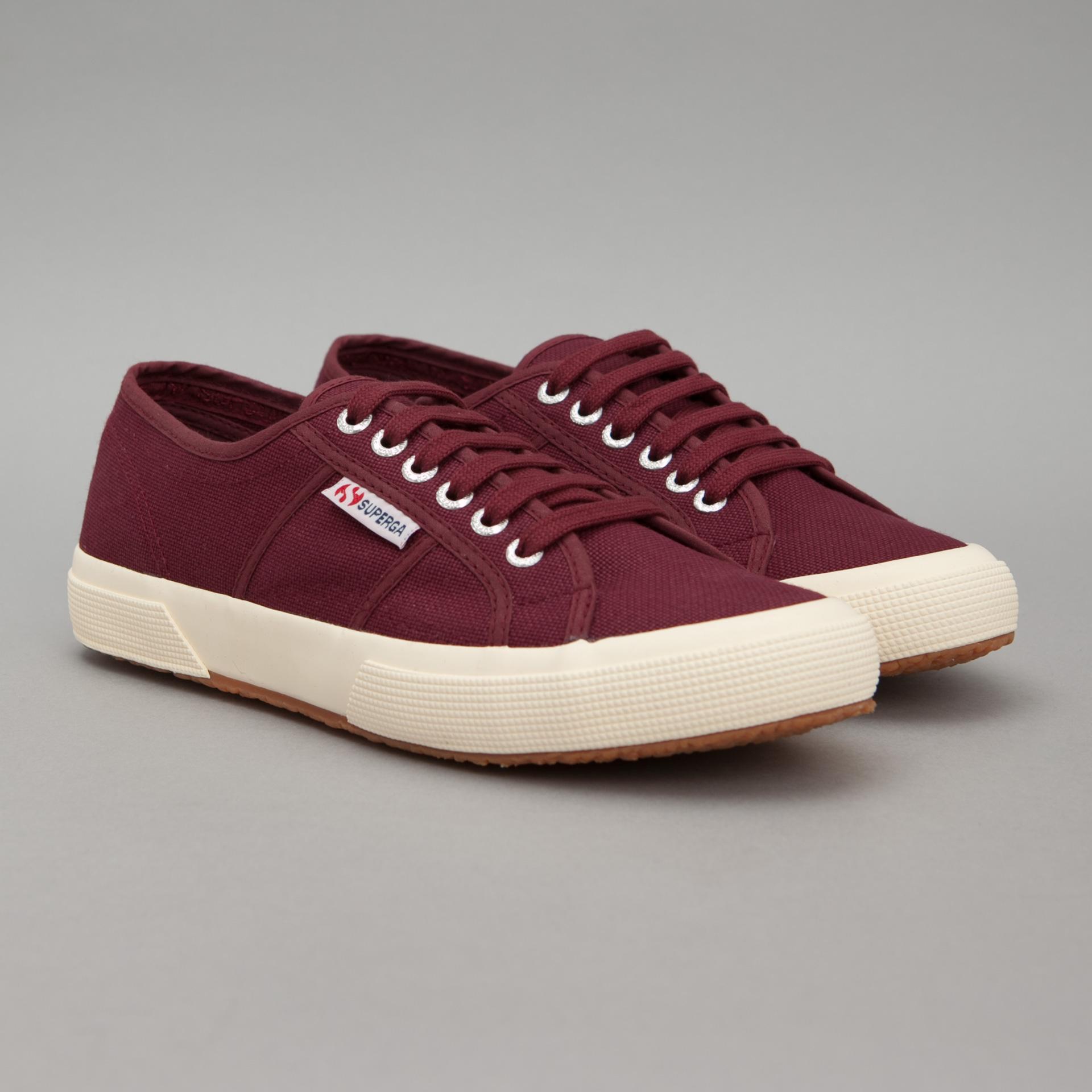 Chaussures Superga 2750 Cotu Classic - Couleur bordeaux