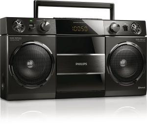 Radio-réveil Philips Boombox portative vintage OST690/10