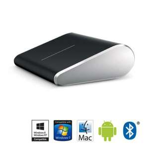 Souris Tactile Bluetooth Wedge Touch Mouse Microsoft