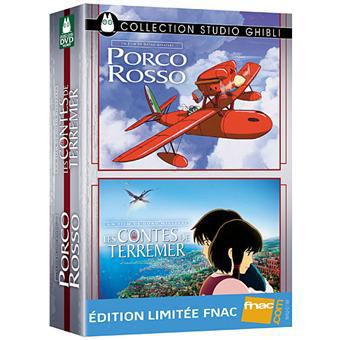 Coffret DVD 2 Films du Studio Ghibli : Les Contes de Terremer - Porco Rosso