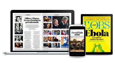 Edition abonnés L'Obs + TéléObs + O + L'Obs du Soir gratuite pendant 14 jours en version digitale