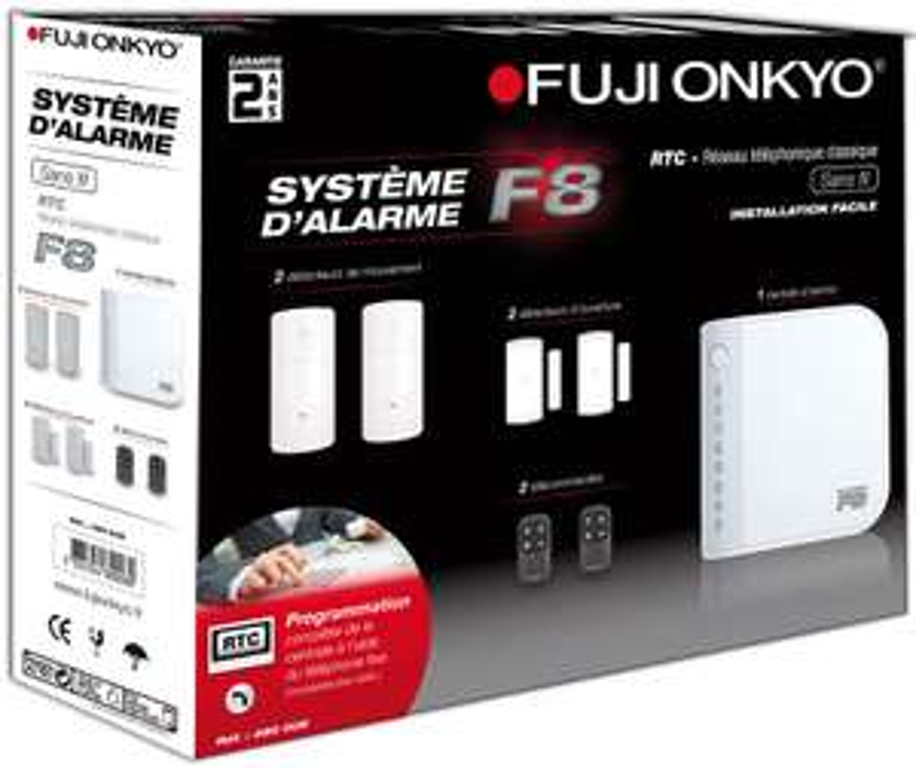Kit alarme RTC sans fil Fujionkyo F8