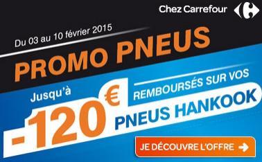 de 15 à 120€ remboursés via ODR pour l'achat d'au moins 2 pneus