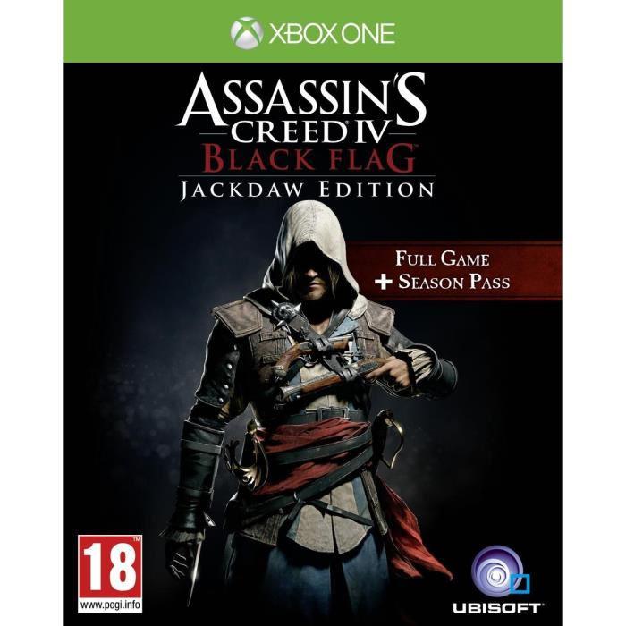 Jeu Assassin's Creed IV Jackdaw Edition sur Xbox One (Jeu en français)