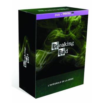 Coffret Blu-Ray Intégrale Breaking Bad à 45.99€, Coffret DVD