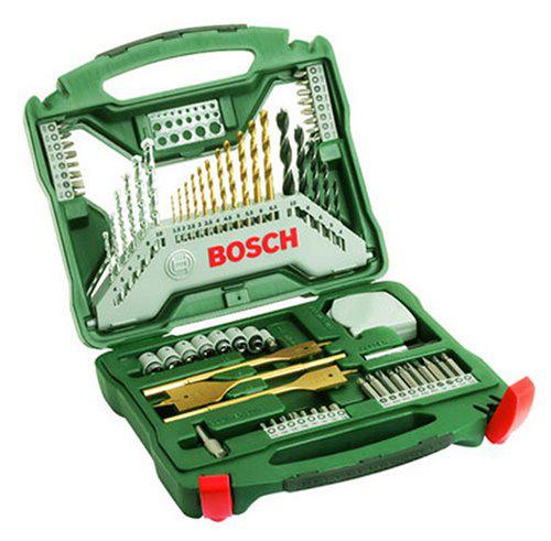 Cofffet de forets Titane Bosch X-Line 70 pièces