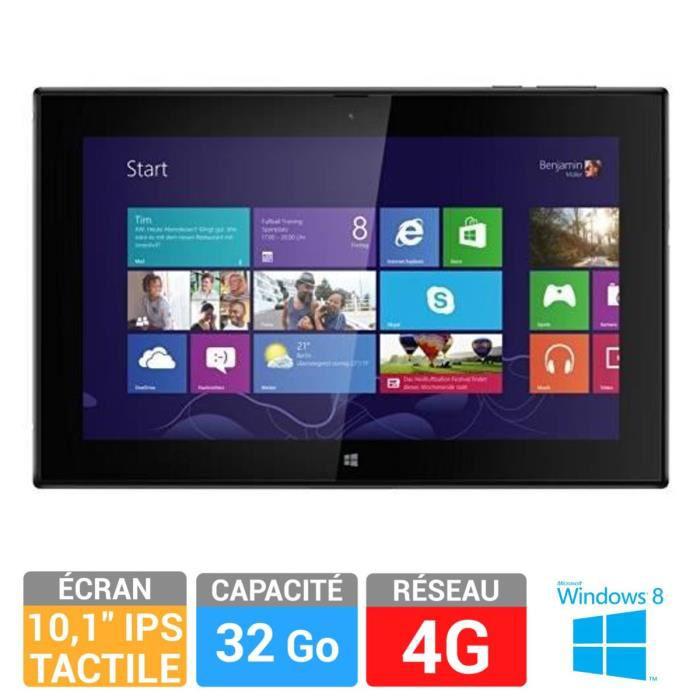 "Tablette 10"" Nokia Lumia 2520 - 4G - 32Go Noir"
