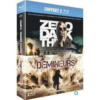 Coffret Blu-Ray : zero dark thirty - Démineurs