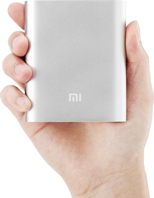 Batterie Xiaomi Powerbank 10400mAh + Housse en silicone à 16.4€ ou seule