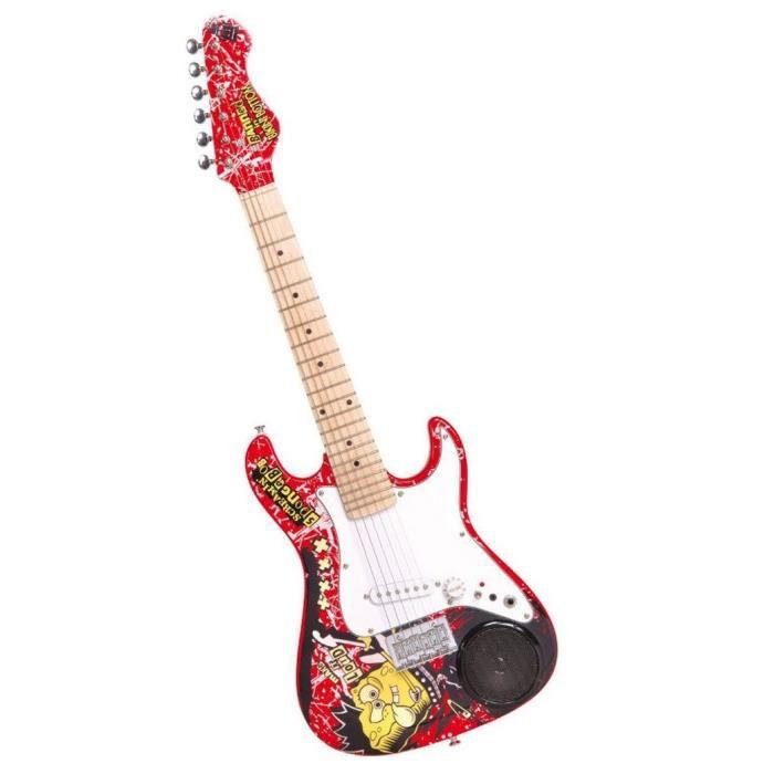Guitare électrique amplifiée Bob l'éponge + Accessoires