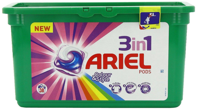 Lot de 2 boites de pack de lessive Ariel Pods 30 doses (via bon de réduction)