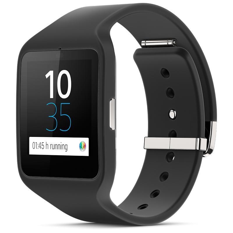 Montre connectée Sony Smartwatch 3 (Avec ODR de 50€) + Bracelet rose ou jaune offert ou -50% sur le casque bluetooth SBH60 (via ODR)