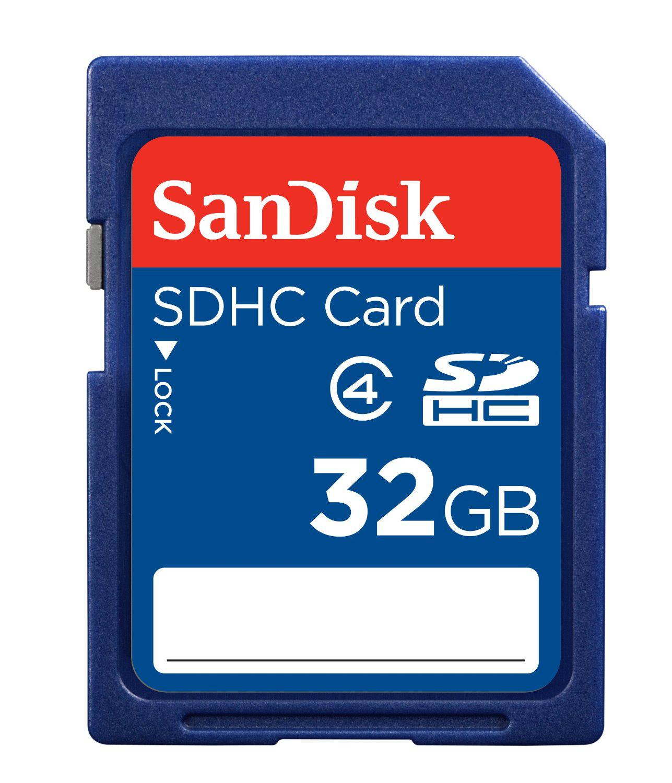 Carte SDHC Sandisk 32Go Classe 4