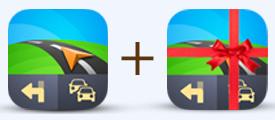 Offre spéciale GPS Sygic sur android (1 carte achetée = la même offerte pour un second appareil)