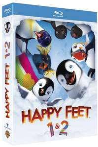 Coffret Blu-ray Happy Feet + Happy Feet 2