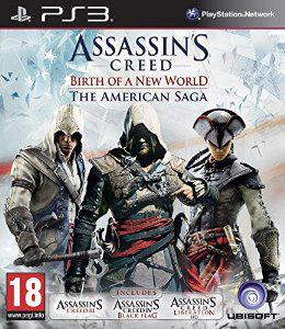 Pack de 3 jeux Assassin's Creed - Un Nouveau Monde : La Saga Américaine sur PS3 (Import anglais / Jeux en français)