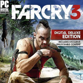 -75% de réduction sur la série Far Cry (sauf le 4) sur PC (Dématérialisé) - Ex:  Far Cry 3 Deluxe Edition