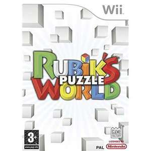 Rubik's Puzzle World sur Wii (Port : 3.89€)