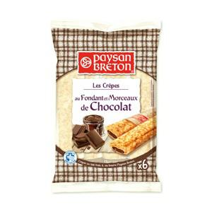 6 crêpes Paysan Breton - Chocolat ou fraise (avec 0.99€ sur la carte)