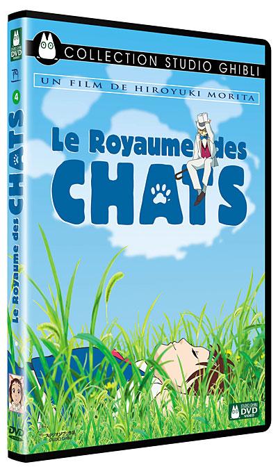 Sélection de DVD Studio Ghibli à 5€ - Ex : Le Royaume des chats